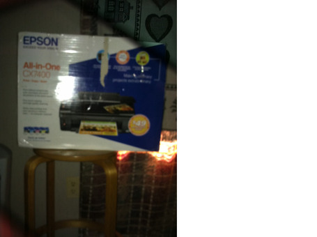 Brand New! EPSON CX 7400 All In One Printer,Scanner,Copier